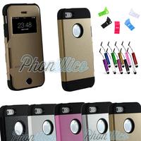 Coque Housse Etui Flip Cover Armor Anti-chocs pour iPhone 5 / 5S