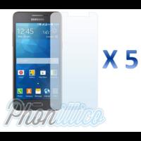 Lot 5 films Protection Ecran pour Samsung Galaxy Grand Prime
