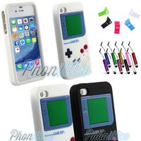 Coque Housse Etui GameBoy pour Apple iPhone 4 / 4S