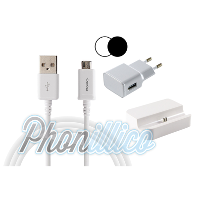Pack Dock Chargeur pour Samsung Galaxy Alpha