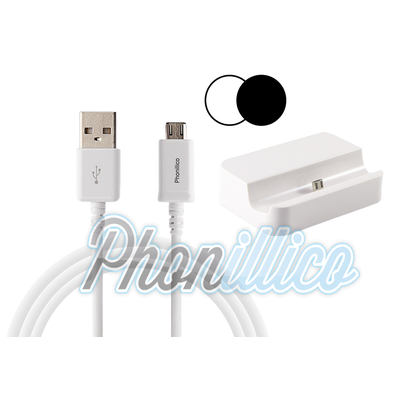 Dock Secteur + Cable USB pour Samsung Galaxy Alpha