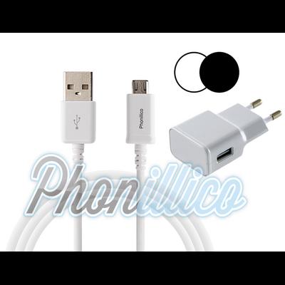 19-CableBlanc+ChargeurSecteurBlancChoix