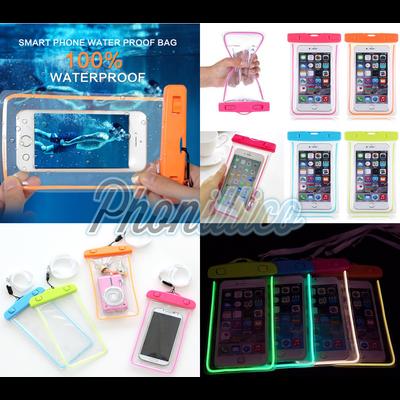 Coque Housse Etui Pochette Sac Lumineux Waterproof pour Smartphone ALCATEL au Choix