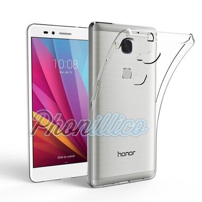 Coque Housse Etui Ultra Slim TPU Transparent pour Huawei Honor 5X