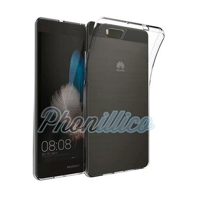 Coque Housse Etui Ultra Slim TPU Transparent pour Huawei P8 LITE