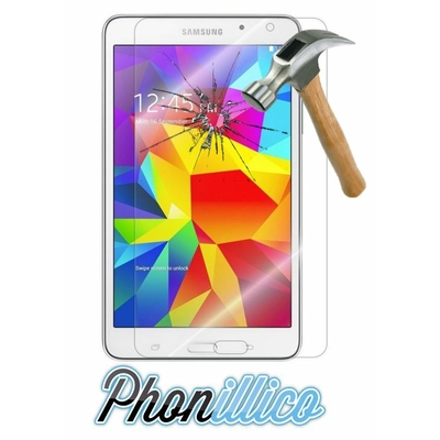 Film Protection Verre Trempe pour Samsung Galaxy Tab 4 7.0