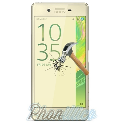 Film Protection Verre Trempe pour Sony Xperia X