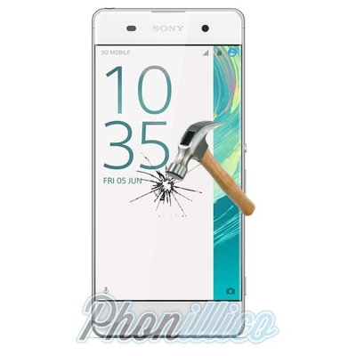 Film Protection Verre Trempe pour Sony Xperia XA