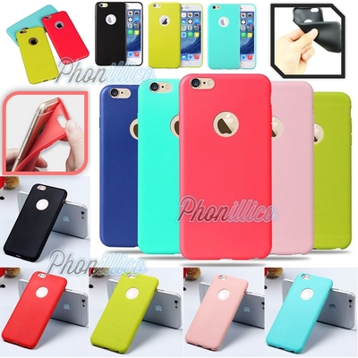 Coque Housse Etui Ultra Slim TPU Color pour Apple iPhone 6 / 6S