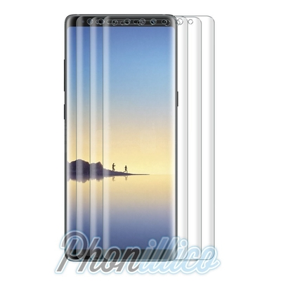 Film Protection Ecran Plastique 100% Incurve Integral pour Samsung Galaxy Note 8