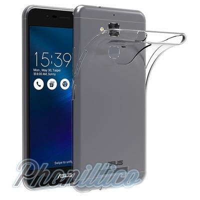 Coque Housse Etui Ultra Slim TPU Transparent pour Asus Zenfone 3 Max ZC520TL