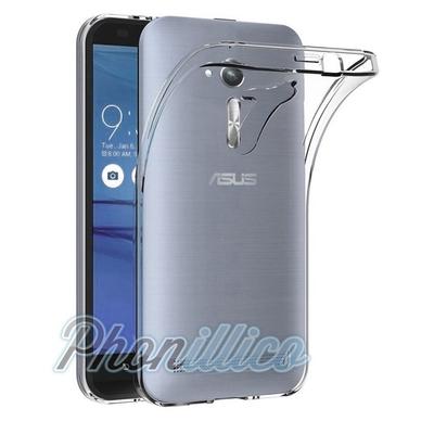 Coque Housse Etui Ultra Slim TPU Transparent pour Asus Zenfone GO ZB552KL