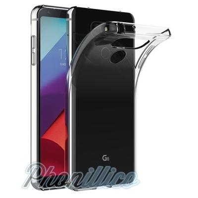 Coque Housse Etui Ultra Slim TPU Transparent pour LG G6