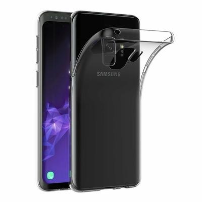 Coque Housse Etui Ultra Slim TPU Transparent pour Samsung Galaxy S9 PLUS