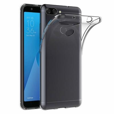Coque Housse Etui Ultra Slim TPU Transparent pour Asus Zenfone MAX PLUS M1 ZB570TL