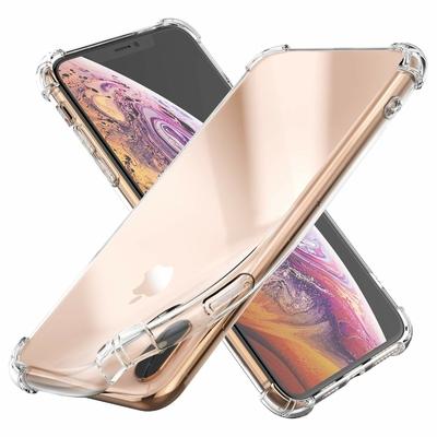 Coque Antichoc Housse Etui TPU Ultra Slim Transparent pour Apple iPhone XS MAX