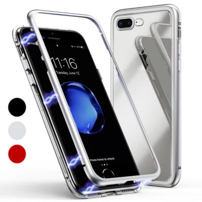 Coque Magnétique + Verre Trempé pour Apple iPhone 7 PLUS