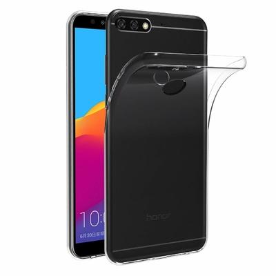 Coque Housse Etui Ultra Slim TPU Transparent pour Huawei Y7 PRO 2018