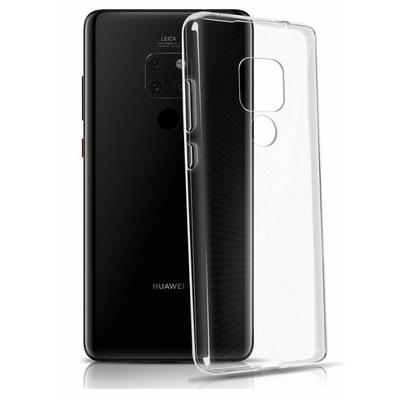 Coque Housse Etui Ultra Slim TPU Transparent pour Huawei Mate 20