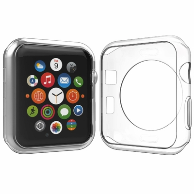 Coque Protection TPU Transparent pour Apple iWatch 38mm