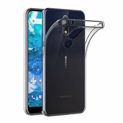 Coque Housse Etui Ultra Slim TPU Transparent pour Nokia 7.1