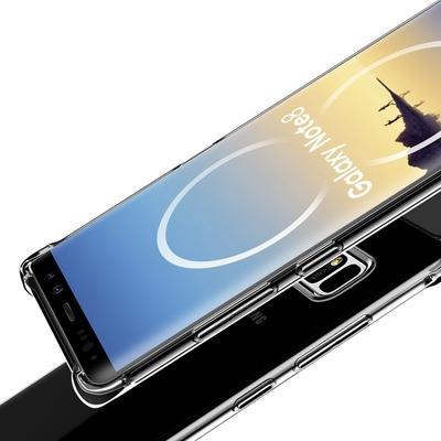 Coque Antichoc Housse Etui TPU Ultra Slim Transparent pour Samsung Galaxy Note 8
