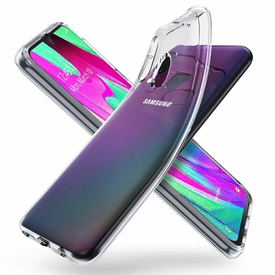 Coque Ultra Slim TPU Transparent pour Samsung Galaxy A40
