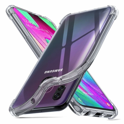 Coque Antichoc TPU Ultra Slim Transparent pour Samsung Galaxy A40