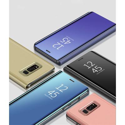 Coque à Rabat Miroir Clear View pour Samsung Galaxy A9 2018