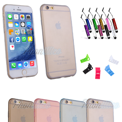 Coque Housse Etui Ultra Slim TPU pour Apple iPhone 6 / 6S