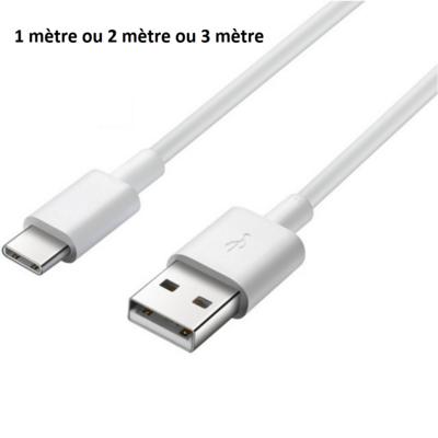 Cable USB-C Chargeur 1m / 2m / 3m pour Samsung Galaxy S10