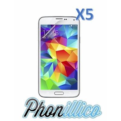 Lot 5 Films Protection Ecran pour Samsung Galaxy S5 Mini