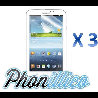 Lot 3 Films Protection Ecran pour Samsung Galaxy Tab 3 7.0