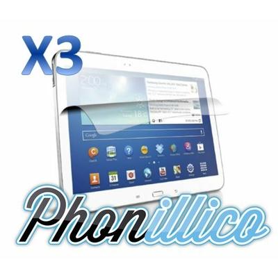 Lot 3 Films Protection Ecran pour Samsung Galaxy Tab 3 10.1