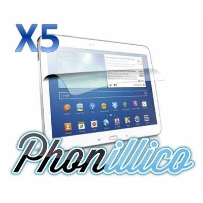 Lot 5 Films Protection Ecran pour Samsung Galaxy Tab 3 10.1