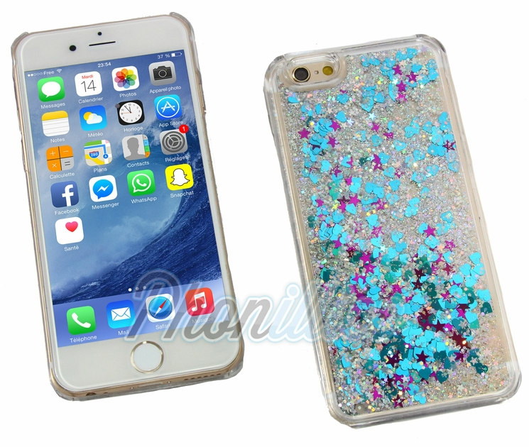 coque paillette iphone 5