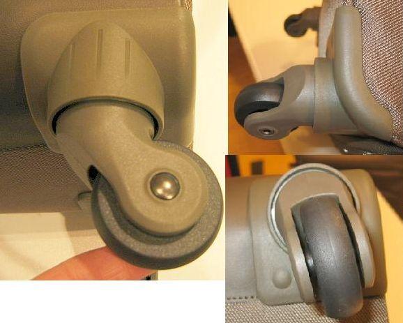 UNE PAIRE DE ROULETTES DELSEY U-LITE (valise 4roues toutes tailles)