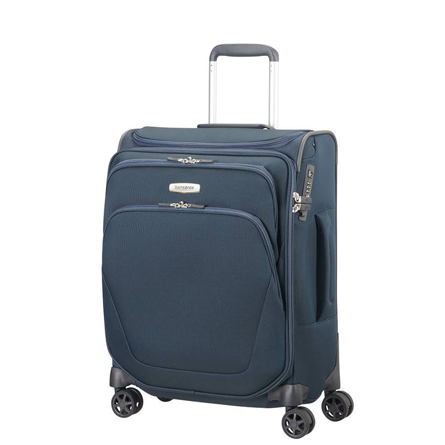 SAMSONITE SPARK SNG SPINNER 55CM TOPPOCKET - Bleu