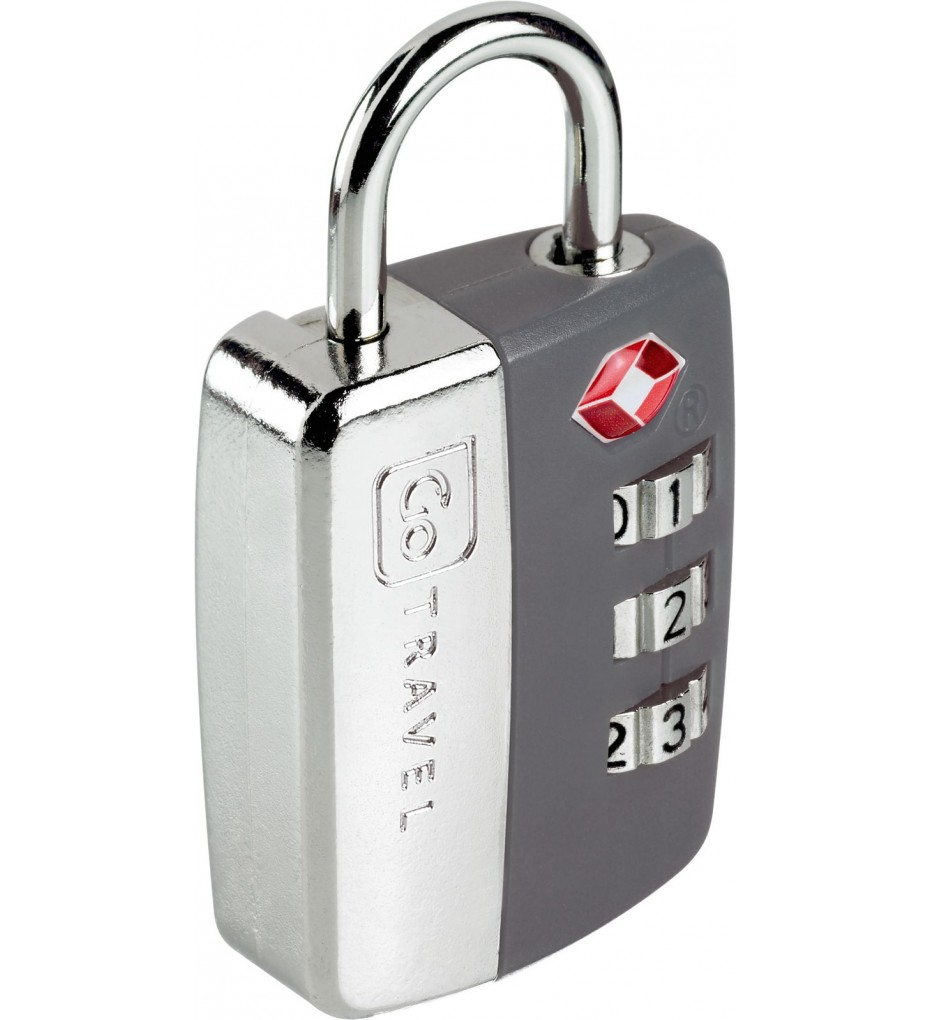GO TRAVEL TRAVEL SENTRY PADLOCK