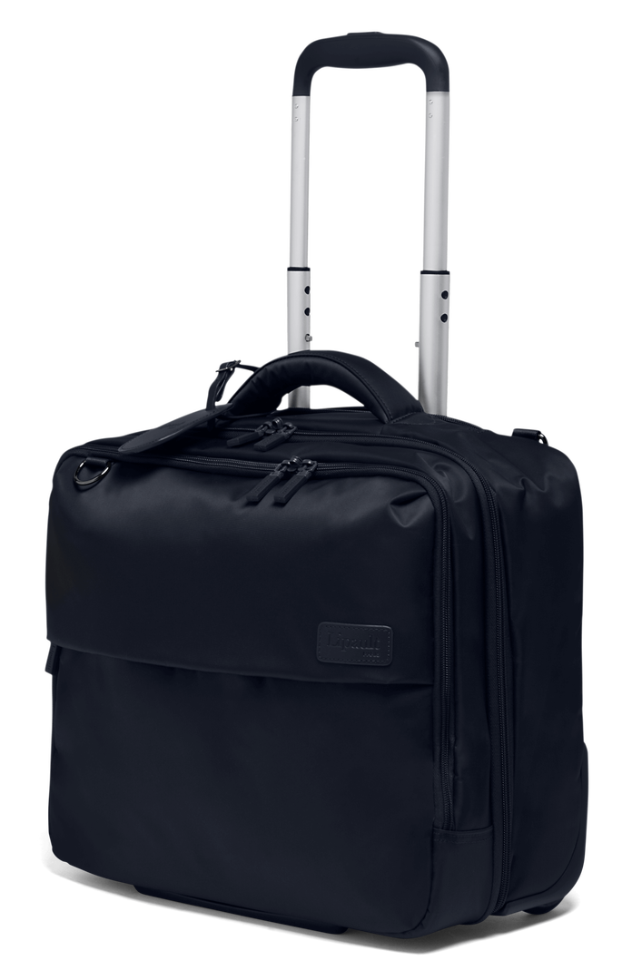 LIPAULT PILOT CASE 2 ROUES PLUME BUSINESS - 2 COMPARTIMENTS