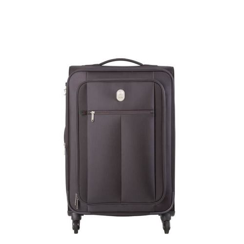 VISA-DELSEY-Valise-Trolley-Extensible-Souple-4-Roues-68cm-PIN-UP5-Noir