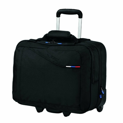 AT BUSINESS III ROLLING TOTE