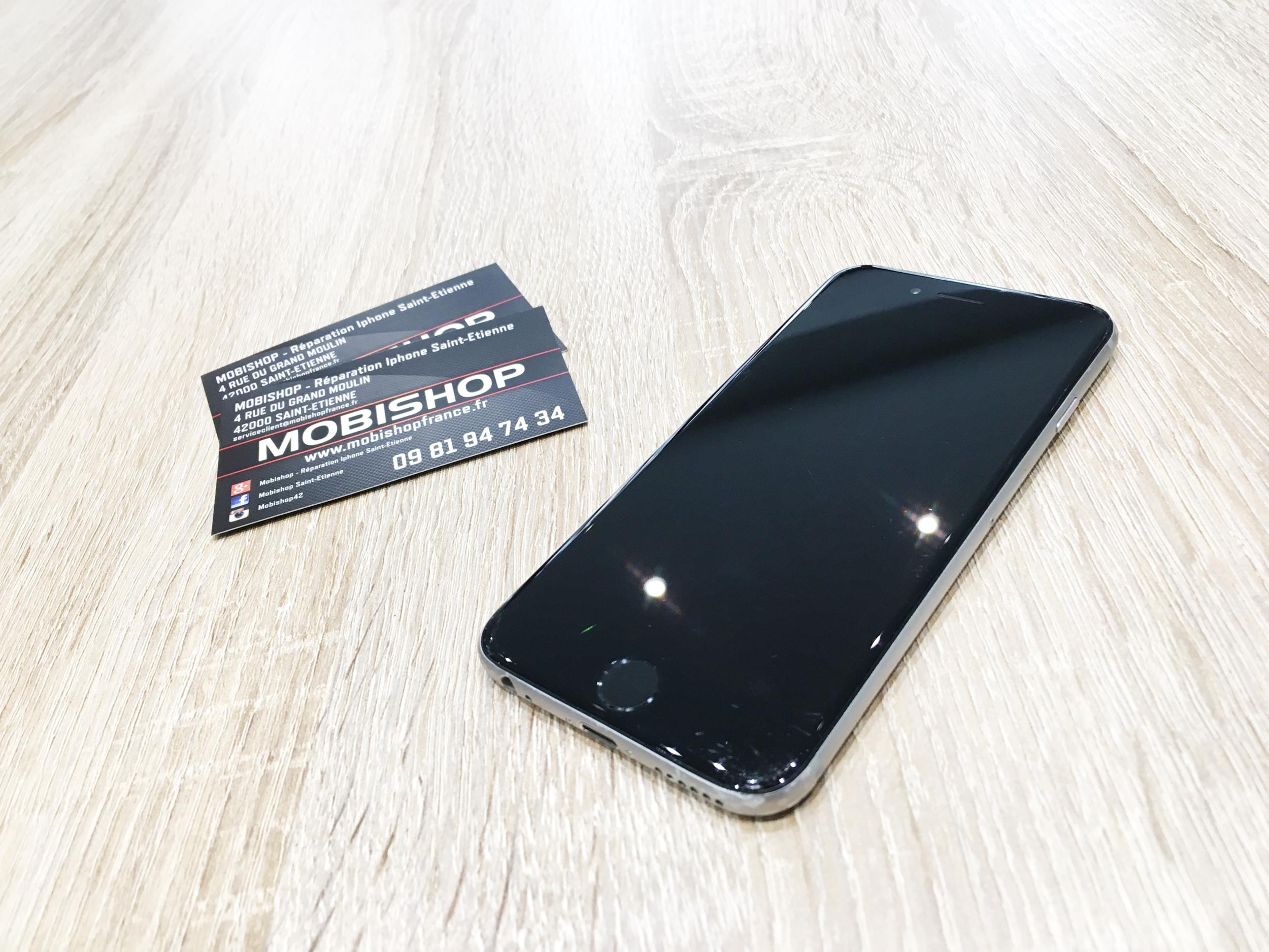 remplacement de la batterie sur cet iphone 6 mobishop actualit s mobishop saint etienne. Black Bedroom Furniture Sets. Home Design Ideas