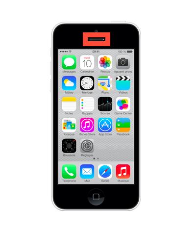remplacement couteur iphone 5c r paration iphone r paration iphone 5c mobishop. Black Bedroom Furniture Sets. Home Design Ideas