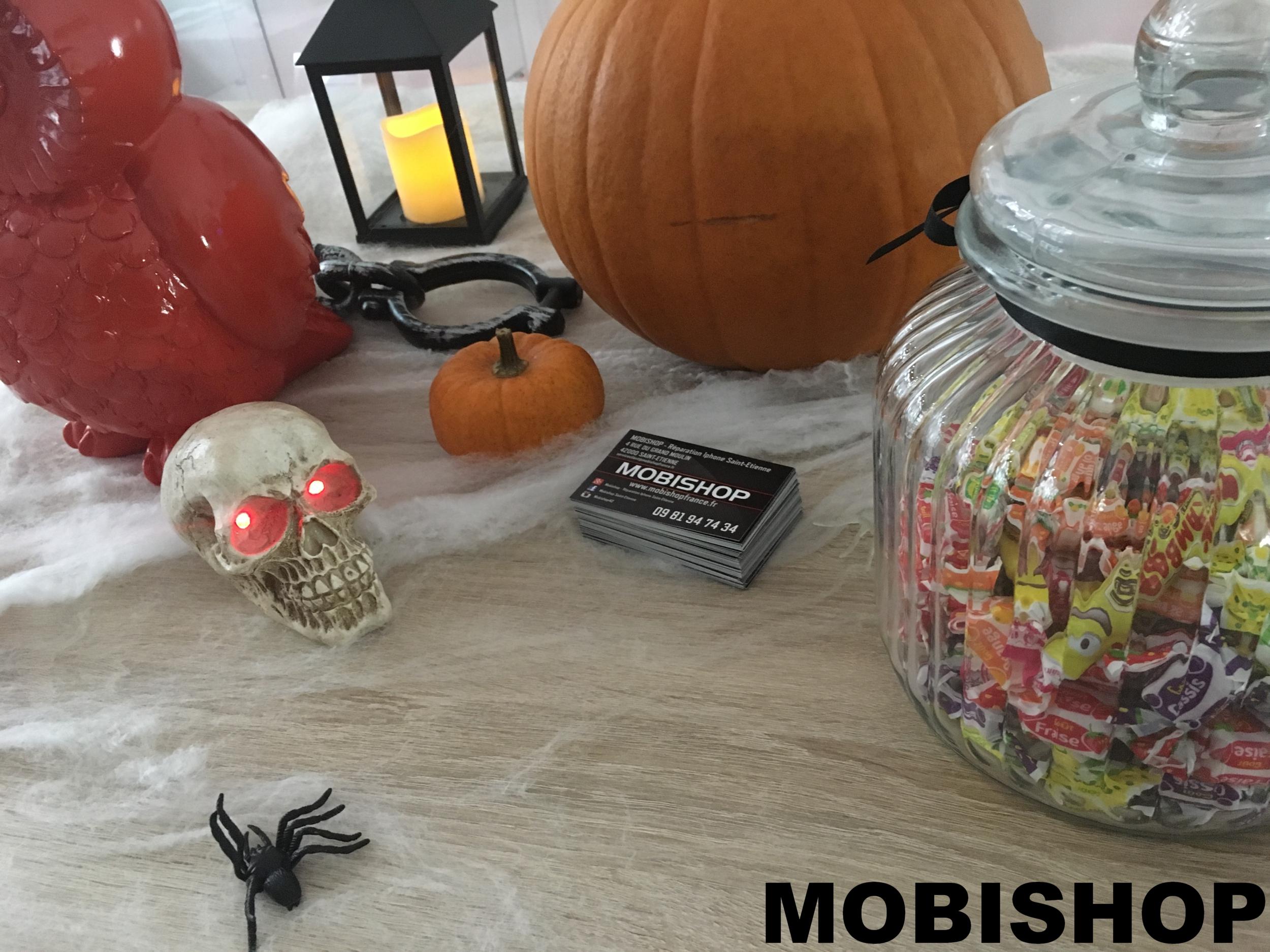Un halloween terrifiant chez mobishop saint etienne actualit s mobishop - Magasin deco saint etienne ...