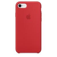 Coque Apple en silicone pour iPhone 8 / 7 - (PRODUCT)RED