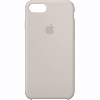 Coque Apple en silicone pour iPhone 8 / 7 - Stone