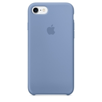 Coque Apple en silicone pour iPhone 8 / 7 - Azure