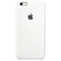 Coque Apple en silicone pour iPhone 6 Plus/6s Plus - Blanc