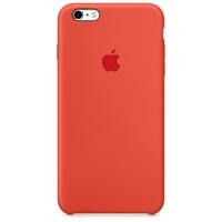 Coque Apple en silicone pour iPhone 6 Plus/6s Plus - Orange